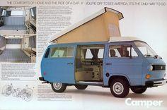 Westfalia  This has been my dream car since I was 17. Powder blue Westfalia,one day you'll be mine.