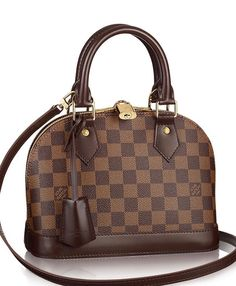 check  Louis Vuitton Alma BB Damier Ebene Canvas Bag as seen on Pia Mia  Perez 2cc464b92d551