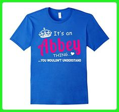 Mens Abbey You Wouldn't Understand Birthday T-Shirt Large Royal Blue - Birthday shirts (*Amazon Partner-Link)