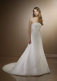 somptueuses robes de mariage bon marché magnifiques bretelles
