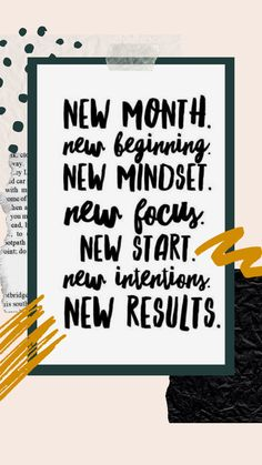 #quotes #quoteoftheday #quotestoliveby #frases #newmonth #newbeginnings #newstart #newdayquotes Positive Words, Positive Quotes, Motivational Quotes, Inspirational Quotes, New Day Quotes, Quote Of The Day, Quotes To Live By, New Beginning Quotes, New Month
