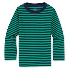 Okie Dokie® Long-Sleeve Striped Tee - Boys 12m-6y  found at @JCPenney