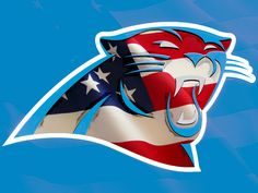 patriotic carolina panthers