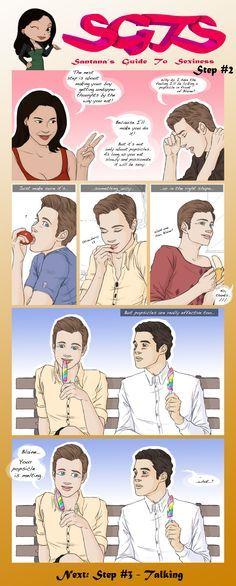 Glee. Santana's Guide to Sexiness.