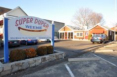 Super Duper Weenie restaurant in Fairfield, CT