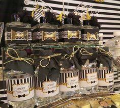 Black White Gold Birthday Party ideas