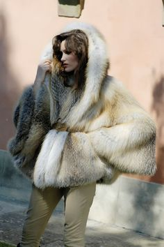 From Cal Meir's Large Fur Sleeves Board.Fur