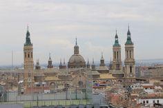 Vistas del Pilar desde la terraza del Hotel Alfonso.
