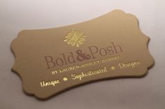 Shaped Business Cards, Square Business Cards, Textured Business Cards