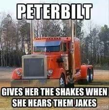 Jake brakes And ya city dont wanna hear em.... Let a trucker stop in ya kitchen when air brakes fail...then how ya like em? Just sayn