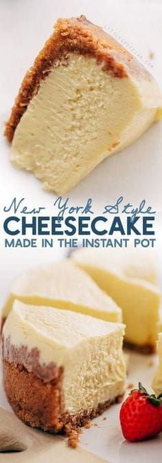 New York-Style Instant Pot Cheesecake Recipe | Little Spice Jar...