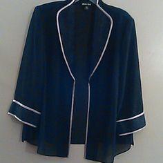 Clothing Elegant  Black and Gold jacket new (never been worn) Jackets & Coats