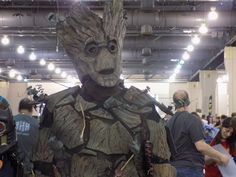 Groot at Wizard World Philly Pa 2015