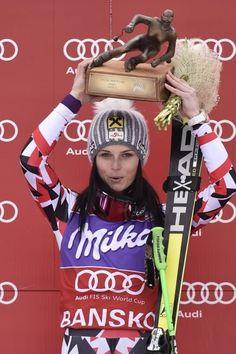 SUPERBA! Anna Fenninger è in stato di grazia: la 25enne sciatrice austriaca lo aveva dimostrato già ai Mondiali (oro in super-G e gigante e argento in discesa) e lo sta ribadendo in questa seconda parte di stagione. Se prima della rassegna iridata Beaver Creek, dopo il successo in apertura a So