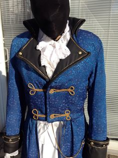 Free shipping,Disney prince Adam,Beauty and the beast ,Victorian costume ,pirate costume,Captain,steampunk,cosplay,time traveler ,napoleon, by CostumesAndVintage on Etsy https://www.etsy.com/listing/469433492/free-shippingdisney-prince-adambeauty