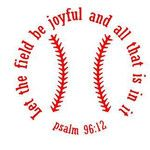 Baseball Decal - Psalm 96:12