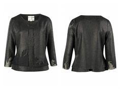 Hermoso conjunto negro de dos piezas ideal para todo tipo de pantalón diseñado por Joseph Ribkoff.