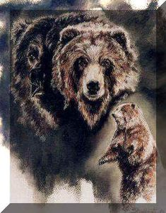 Grizzly. Ltd Giclee print 225 euro