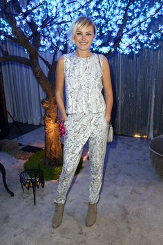 Malin Akerman in the Alter Ego jumpsuit at a Golden Globes pre-party. Gorge!