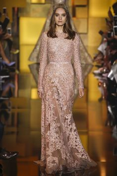 Elie Saab autumn/winter 2015-16 couture