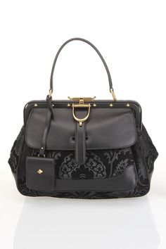 Damask Leather Bag / Gucci