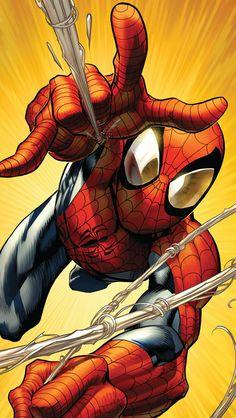 Spidey.                                                                                                                                                     Más Amazing Spiderman, Spiderman Web, Comics Spiderman, Spiderman Classic, Marvel Comics, Marvel Heroes, Marvel Vs, Comic Art, Comic Books Art