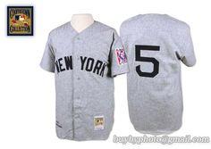 9d03367bf45 New York Yankees Jerseys · Mitchell And Ness 1939 Yankees  5 Joe DiMaggio  Grey Embroidered MLB Jersey Joe Dimaggio
