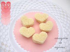 DIY corazones de azúcar / DIY sugar hearts