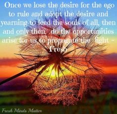 Lose the ego quote via Fresh Minds Matter at www.Facebook.com/#!/FreshMinds1