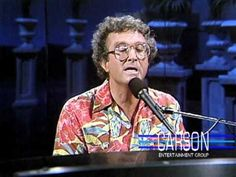 """Randy Newman Sings """"I Love L.A."""" on """"The Tonight Show Starring Johnny Carson"""" - 1984"""