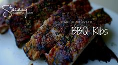 Garlic Crusted BBQ Ribs. Make a Better Meal, Live a Better Life.