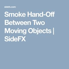 This video explores how to add a series of gas nodes to a pyro simulation to enable the smoke hand off between to running bipeds.