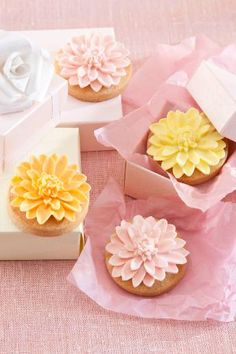 Blossom Biscuits - So Pretty!