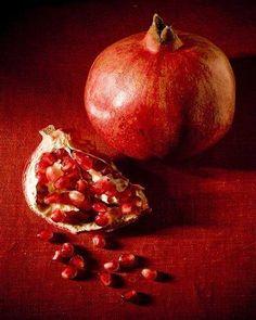 """Abundance"" by Justin Wheeler. My favorite fruit Fruit And Veg, Fruits And Vegetables, Pomegranate Art, Still Life Fruit, Art For Sale Online, Fruit Painting, Painting Still Life, Fruit Art, Online Art Gallery"