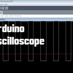 Picture of Arduino - Oscilloscope (poor man's Oscilloscope) Diy Electronics, Electronics Projects, Arduino Based Projects, Arduino Board, Life Of Pi, Raspberry Pi Projects, Measuring Instrument, Led, Coding