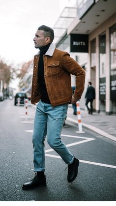 5 Super Cool Fall Outfits To Help To Level Up Your Fall Style 5 Sup. - Mode masculine, formes de style et astuces vestimentaires Mens Fall Outfits, Casual Fall Outfits, Men Casual, Simple Outfits, Mens Fashion Blog, Daily Fashion, Style Fashion, Fashion Outfits, Guy Fashion