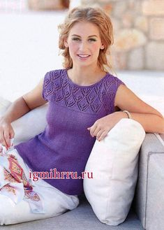Browse some of the most popular designs to have come from a cherished brand with our Sirdar knitting kits collection. Knitting Machine Patterns, Knitting Kits, Knitting Patterns, Pullover Design, Sweater Design, Summer Knitting, Crochet Clothes, Knit Dress, Knitwear