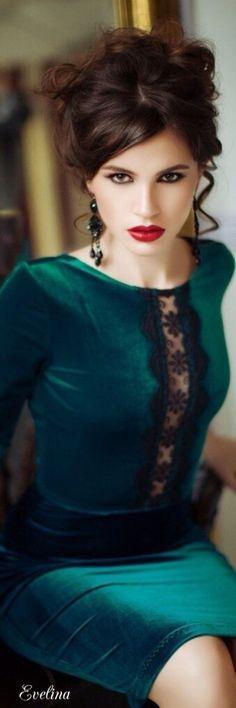 Green velvet...                                                                                                                                                                                 Mais