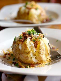 Easy Dinner for Autumn: Jacket Potatoes