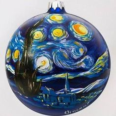 hand blown glass ball ornament to paint - Google Search