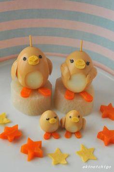 boiled egg penguin