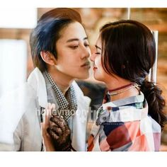 Can I have a kiss AoMile Live Action, Mike D Angelo, Lee Jin Wook, Thai Drama, Full House, Dream Guy, I Can, Kdrama, Thailand