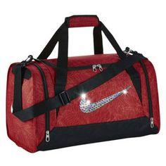 e60ecec99aeb Nike gym bag with Swarovski crystals