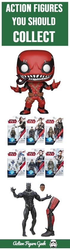 Action figures you should collect and some that you shouldn't  I started collecting action figures as a result of watching Star Wars as a kid and became a Star Wars collector.
