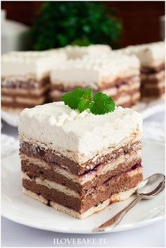 Dom, Vanilla Cake, Tiramisu, Food And Drink, Sweets, Baking, Ethnic Recipes, Gummi Candy, Candy