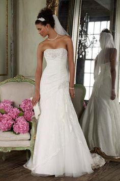 David's Bridal: Style YP3344 @Stephanie Close Walker  this was one of our favorites and this store is in Phoenix