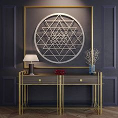 Check out this item in my Etsy shop https://www.etsy.com/listing/543409548/sri-yantra-wall-art-metal-wall-art
