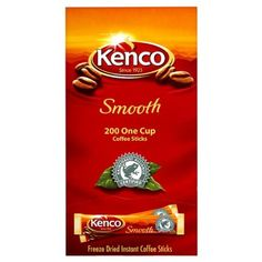 Kenco Smooth 200 One Cup Coffee Sticks Pack Of 4 -- Details can be found by clicking on the image. (This is an affiliate link and I receive a commission for the sales) Coffee Substitute, Instant Coffee, Freeze Drying, Sachets, Hot Coffee, Drinking Tea, Gourmet Recipes, Packaging Design, Sticks