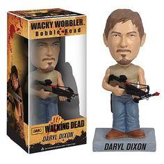 Walking Dead Daryl Dixon Wacky Wobbler Bobble Head