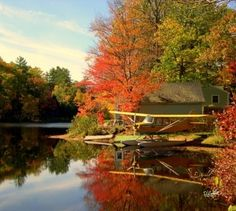 Seaplane in the Fall | New England